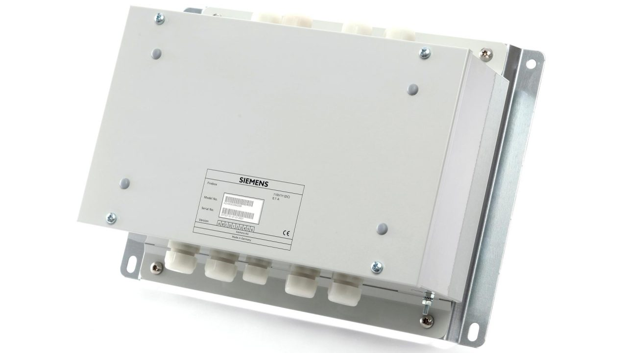 IZT Firebox Safety system for trains side