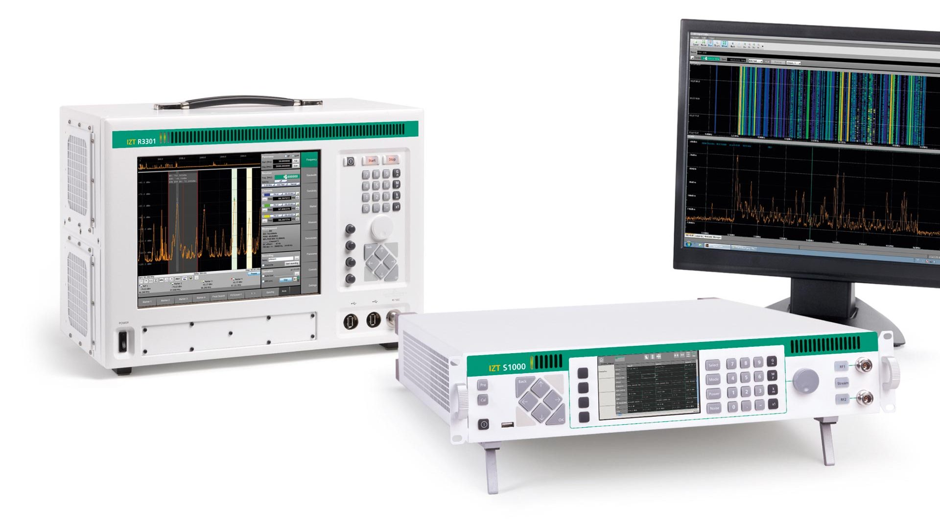 IZT RecPlay RF Recording and Replay System with S1000 and R3301